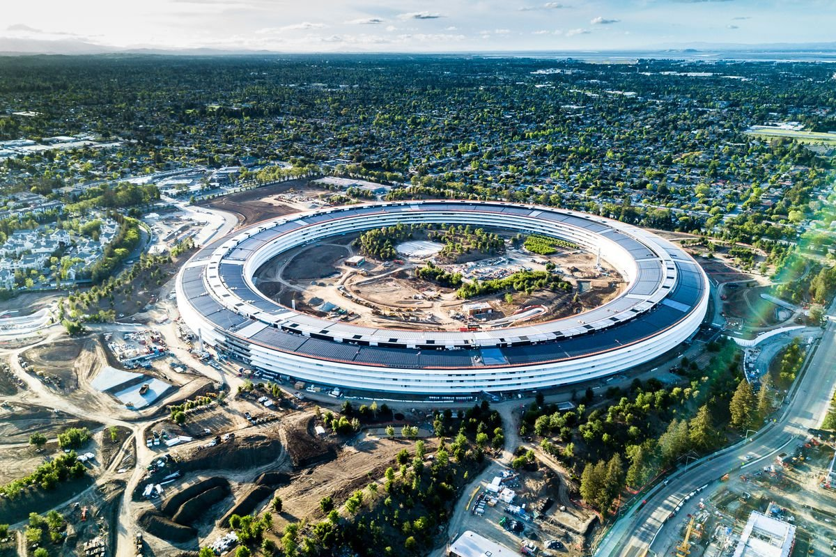 apple, apple park, apple campus, apple new campus