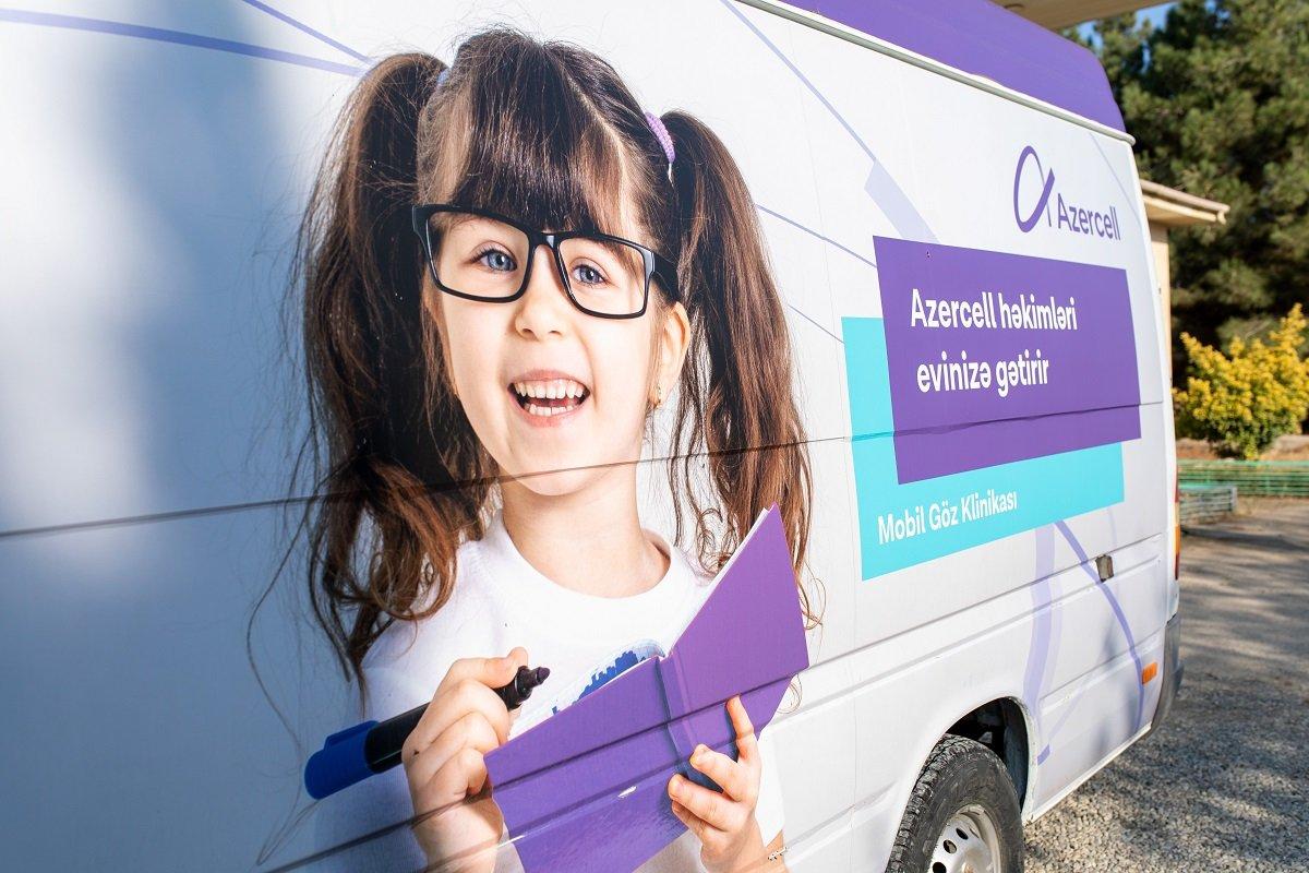 Azercell-in Mobil Göz və Mobil Diş Klinikaları 2020-ci il ərzində yüzlərlə insana təmənnasız tibbi xidmət göstərib!