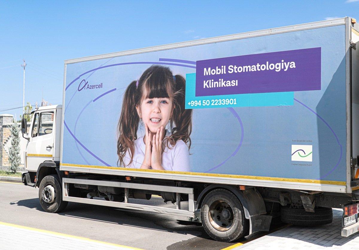 'Azercell Telekom' MMC-nin 'Mobil Diş Klinikası' hesabatını açıqladı