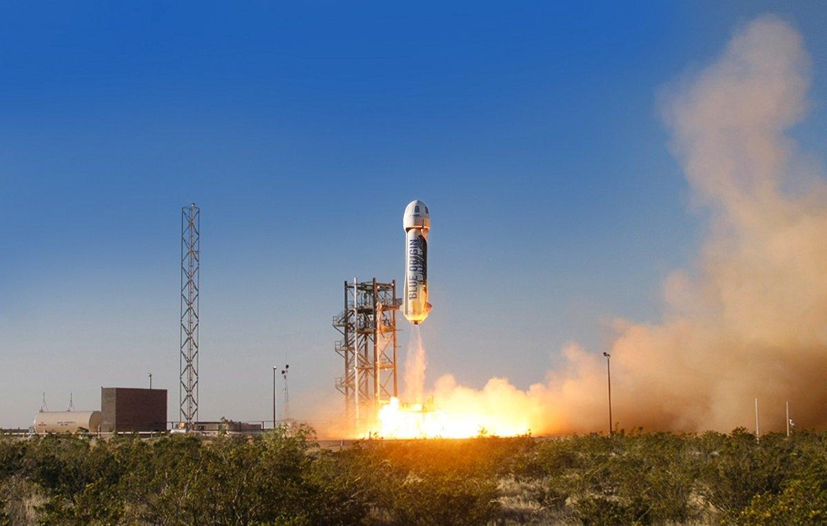 Blue Origin şirkəti kosmik turistlər üçün olan New Shepard raketinin son uçuş testini keçirdib (VİDEO)