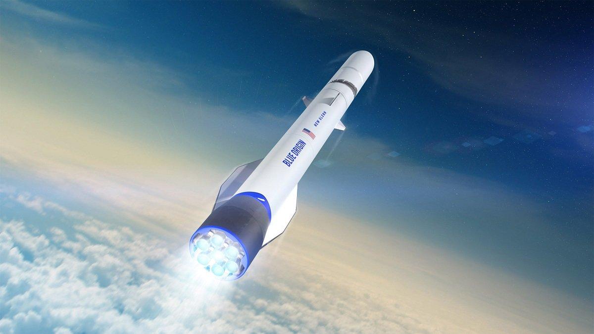 Blue Origin şirkəti New Glenn adlı yeni raket modelini təqdim edib (VİDEO)