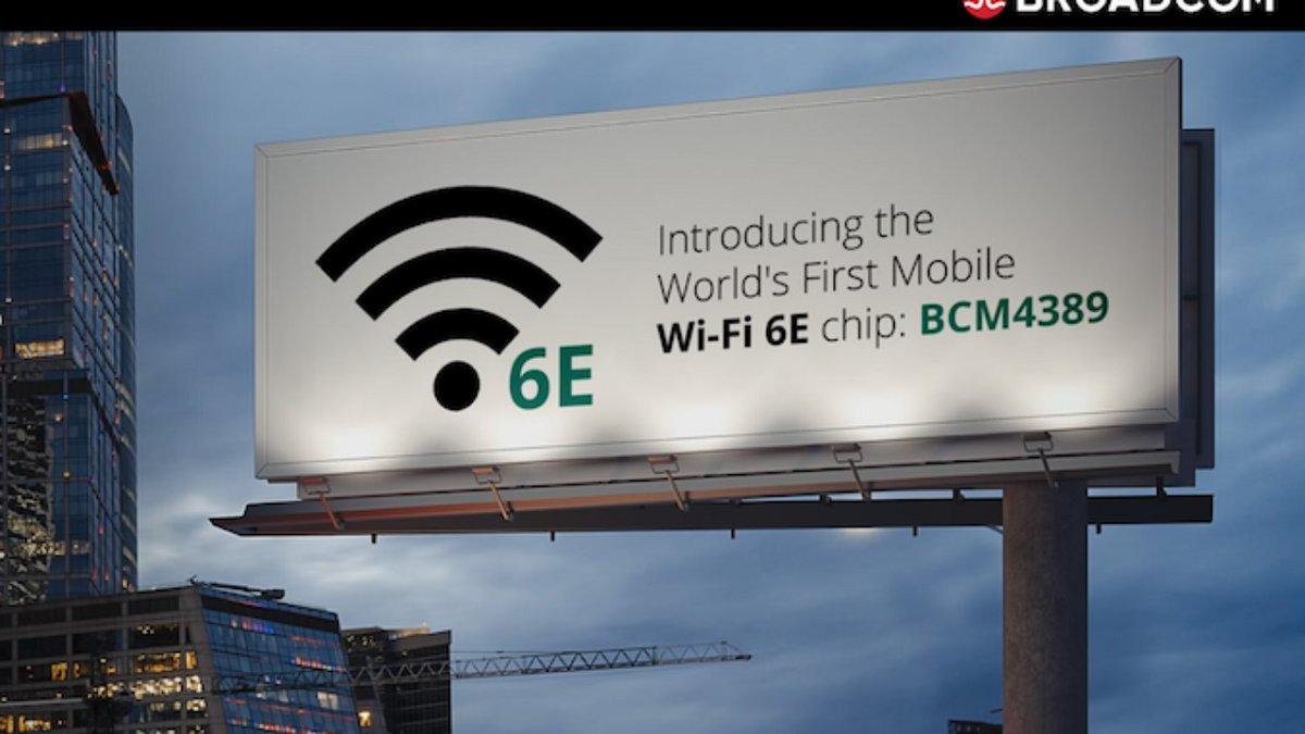 Broadcom şirkəti Wi-Fi 6E standartını dəstəkləyən ilk mobil çipi təqdim etdi