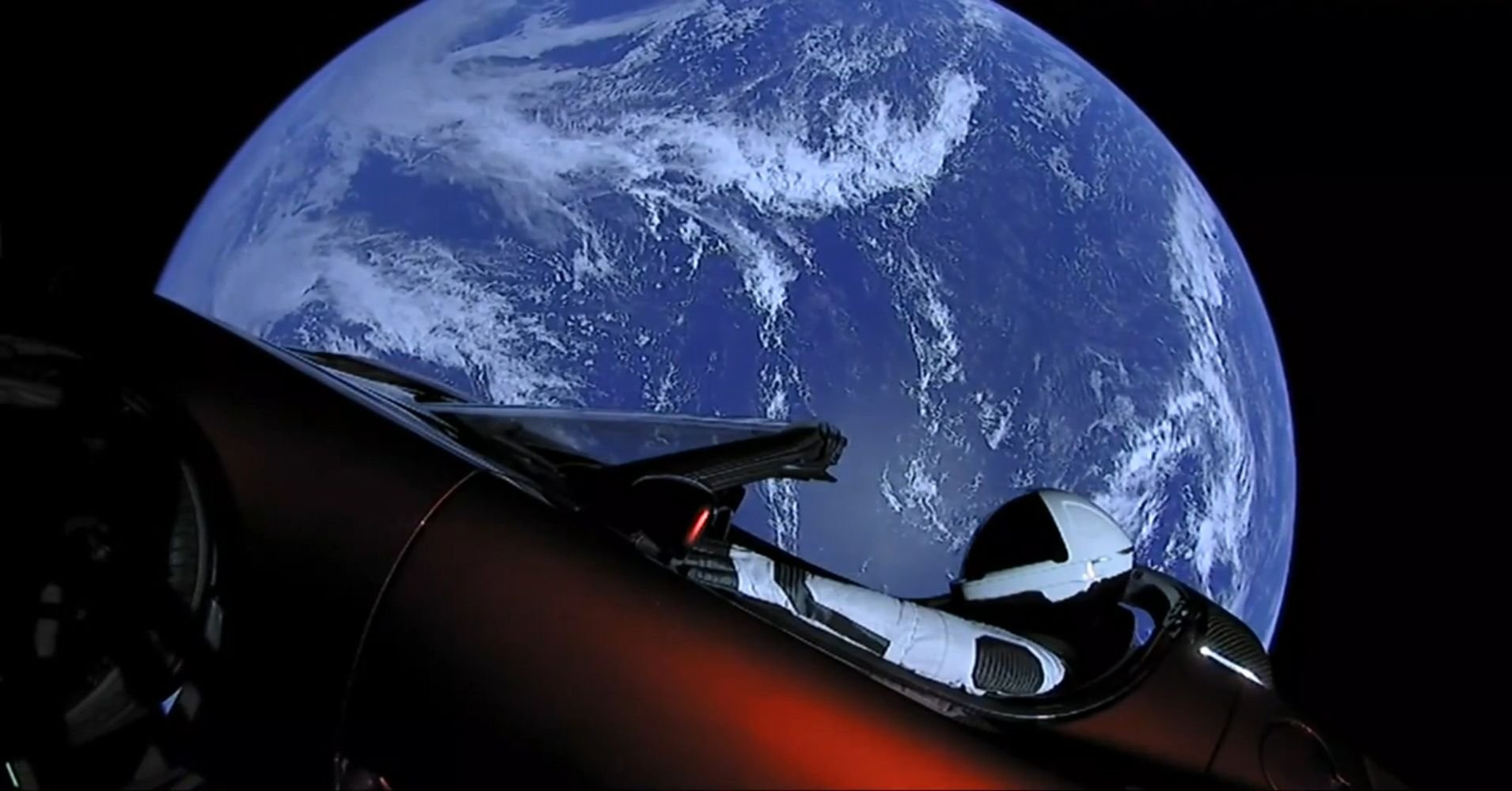 spacex, falcon heavy, tesla roadster, tesla roadster in space, tesla roadster starman, mars, mars planeti, mars planet