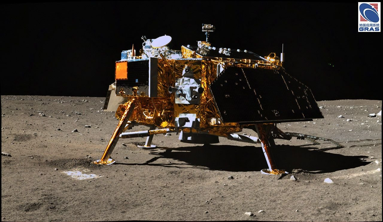 chang'e 4, chang'e 4 rover, chang'e 4 moon mission, chang'e 4 moon rover
