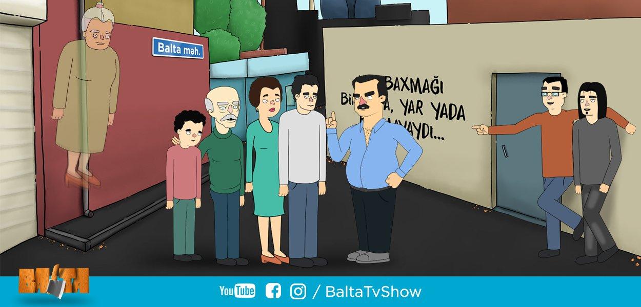 Çoxdandır gözlənilən yerli animasiya 'Balta' dünən ilk bölümü ilə təqdim olundu