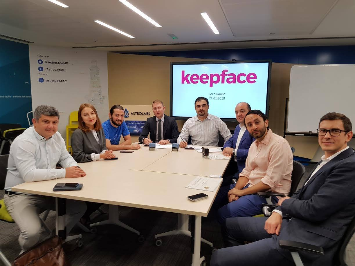keepface, keepface raised money, keepface investisiya aldı