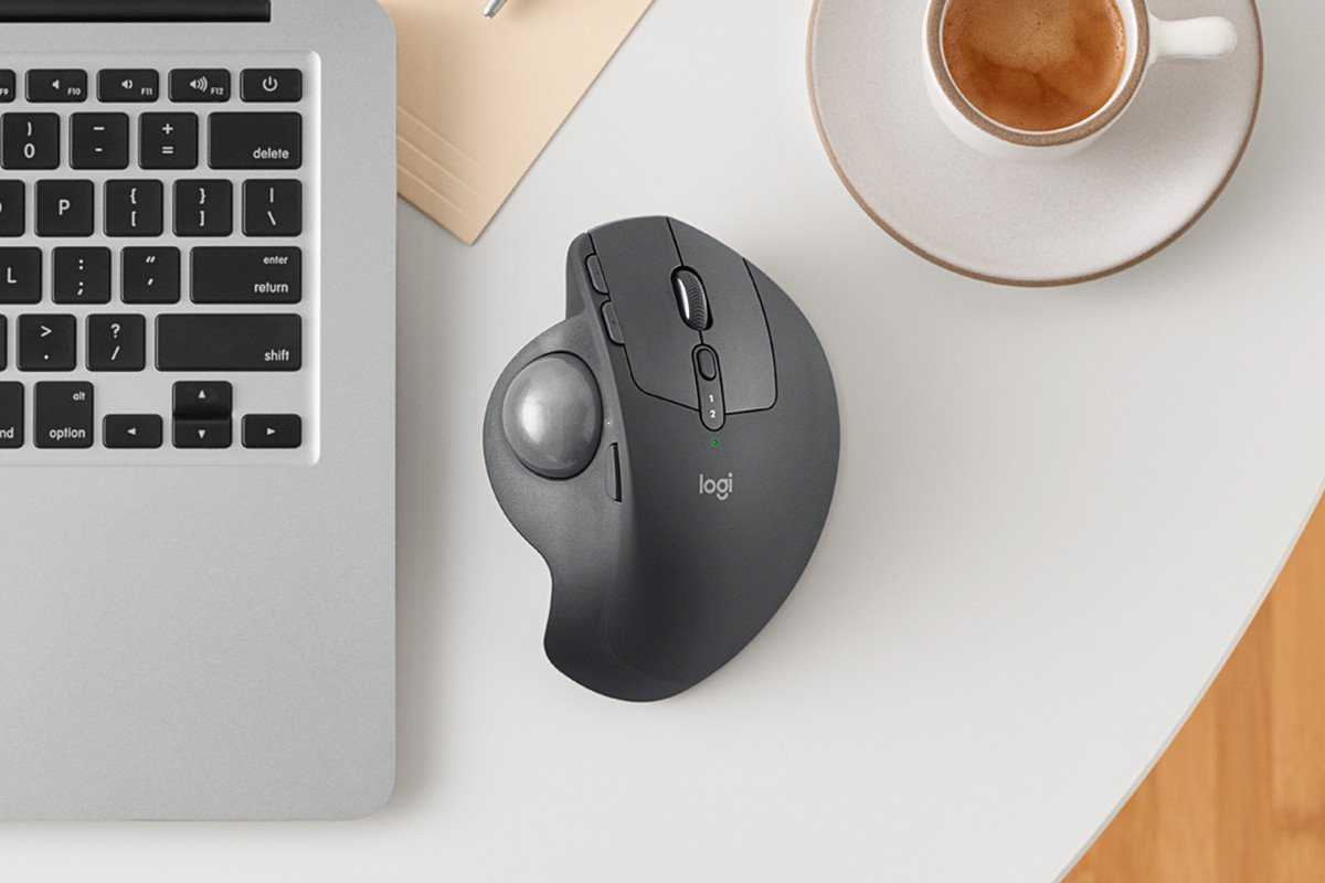 MX ERGO Wireless Trackball Mouse
