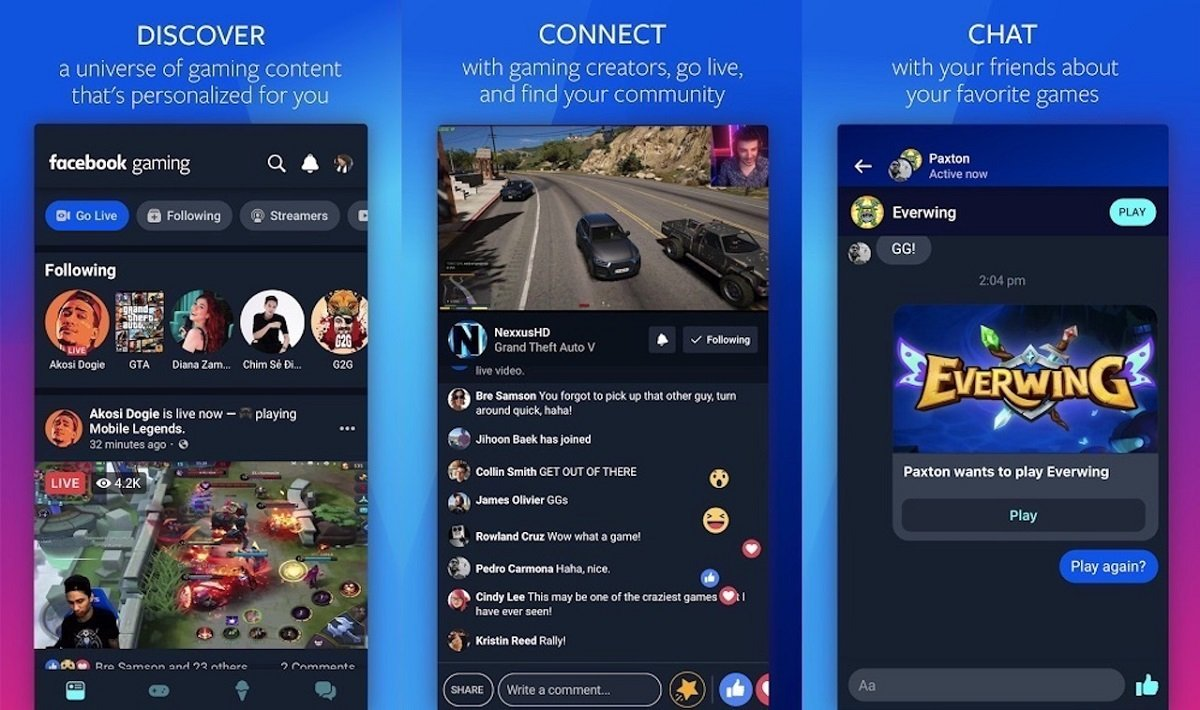 facebook, facebook 2020, facebook gaming, facebook gaming app, facebook gaming android, facebook gaming ios, facebook gaming app android