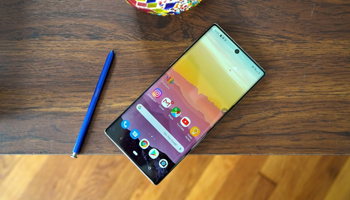 Galaxy Note 10 Lite Geekbench testlərindən keçdi
