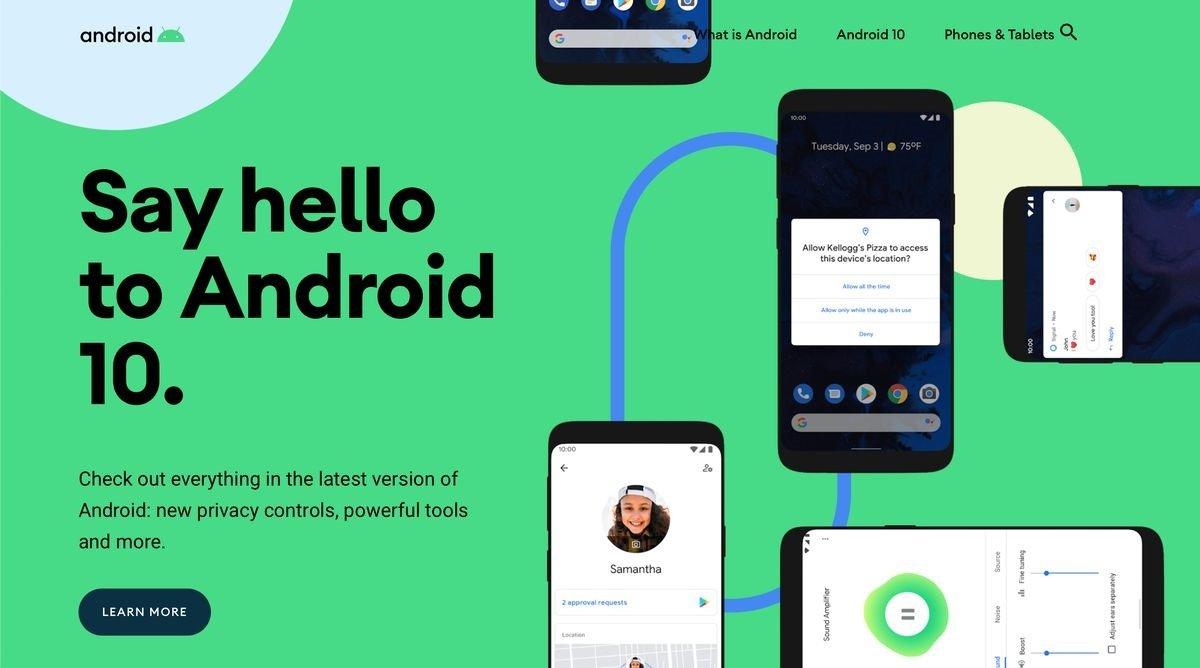 google, google android, android os, android 10, android 10 pixel, android 10 features