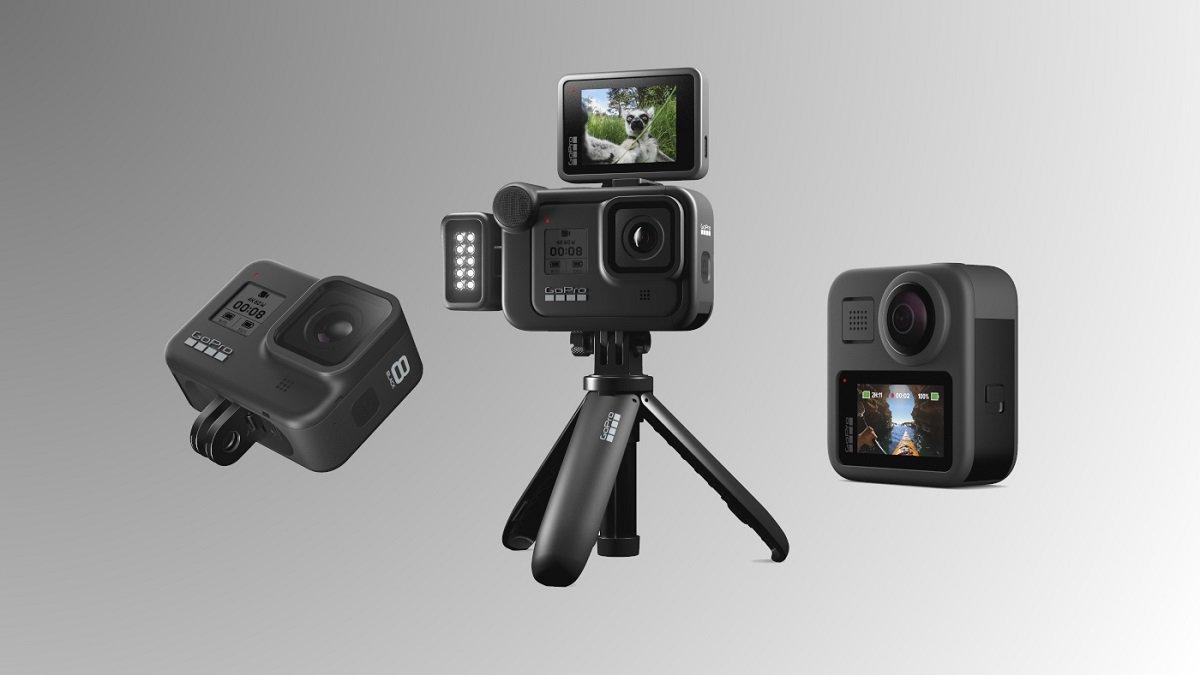 GoPro Hero 8 Black və GoPro Max action kameraları təqdim olunublar - QİYMƏT (VİDEO)