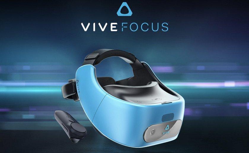 'HTC' şirkəti heç bir xarici mənbəyə qoşulmayan Vive Focus adlı yeni virtual reallıq cihazını təqdim etdi (VİDEO)