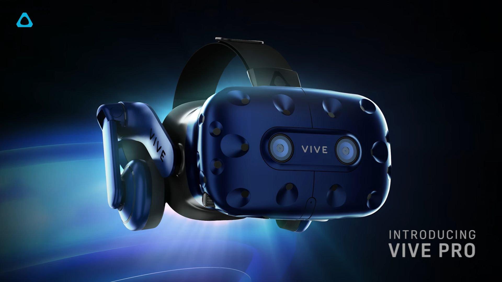 'HTC' şirkəti yenilənmiş HTC Vive Pro virtual reallıq cihazını təqdim etdi (VİDEO)