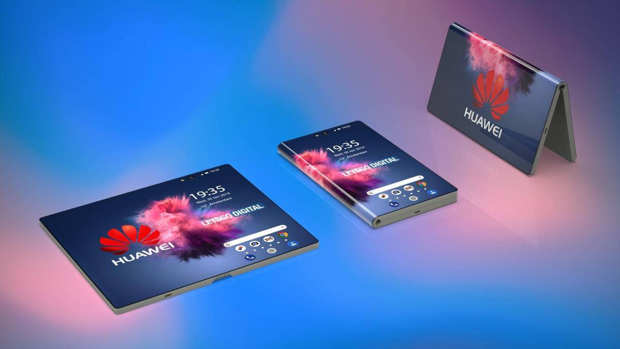 huawei, huawei foldable phone, huawei mwc 2019, foldable phone