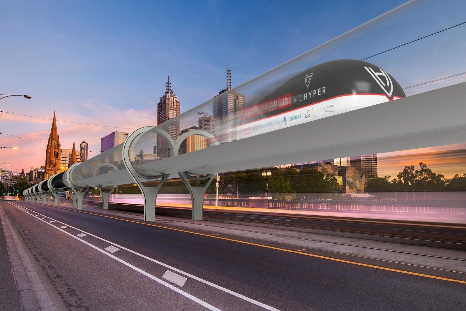 Hyperloop layihəsinin ilk testi keçirildi (VİDEO)