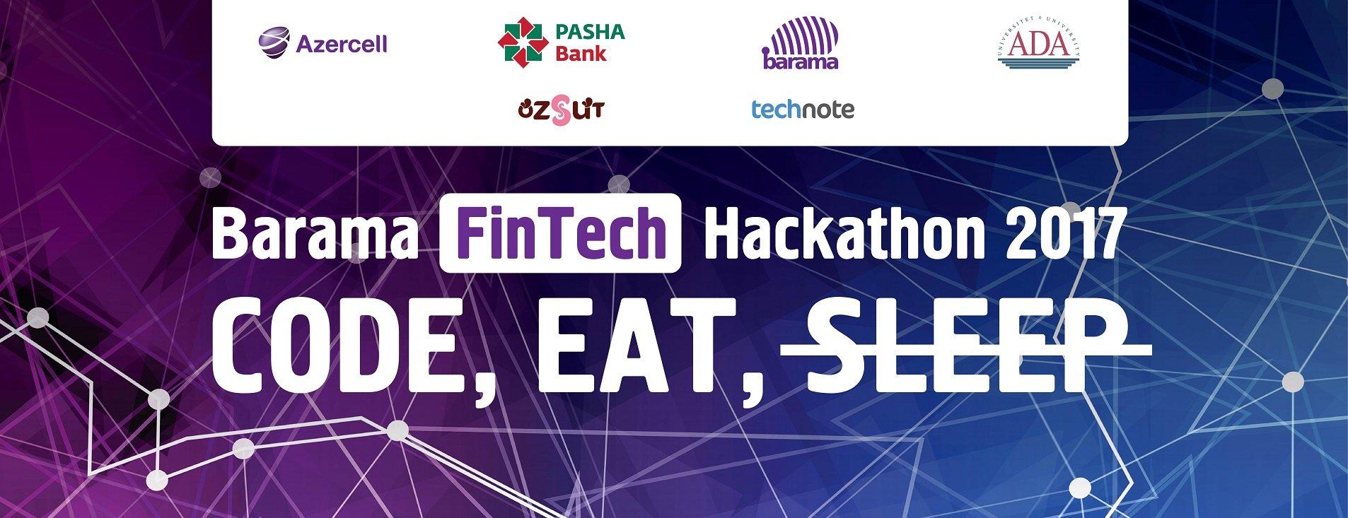 İlin ən böyük 'Hackathon'u gəlir - 'Barama FinTech Hackathon 2017 '