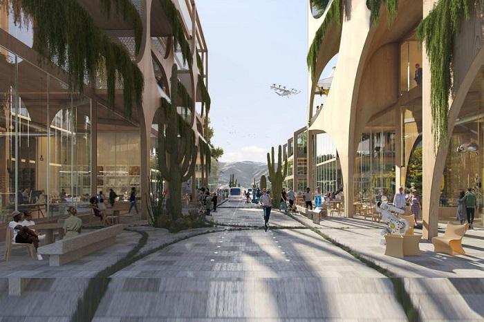 Amerikalı milyarder ABŞ-da yeni texnoloji şəhər inşa etməyi planlaşdırır