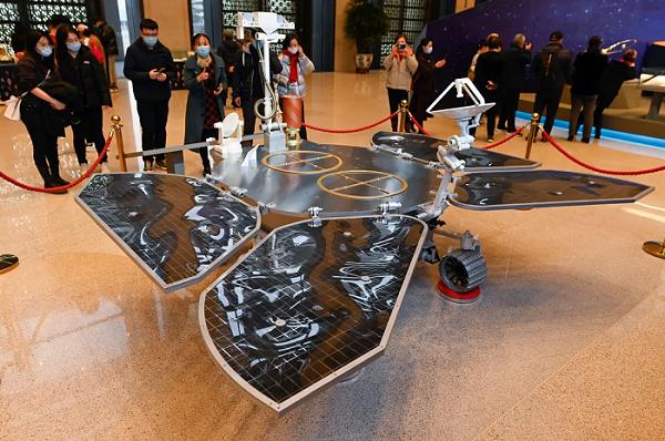 Çin Kosmik Agentliyinin aparatı Mars səthinə uğurla eniş edib