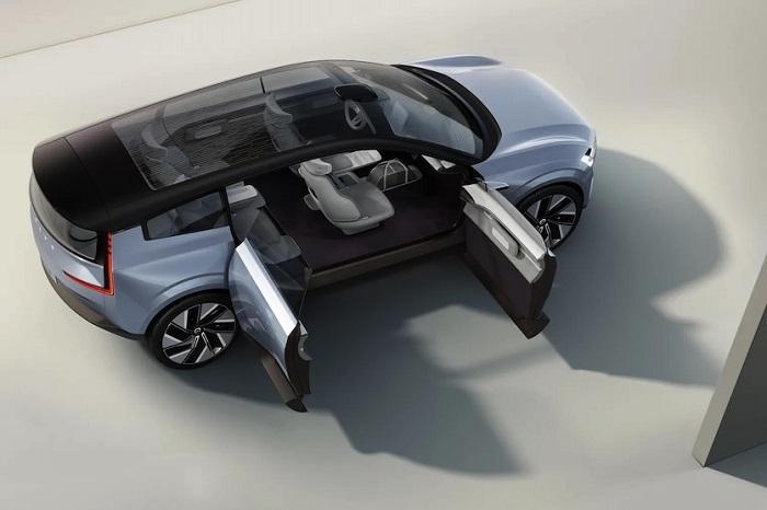 Volvo şirkəti yeni elektromobil konseptini təqdim edib