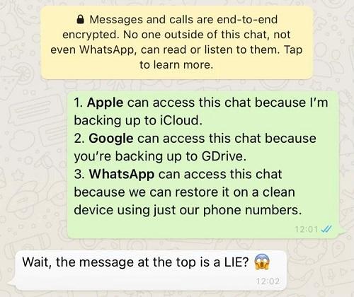 Telegram Whatsapp-ın öz istifadəçilərini necə aldatdığını sübut edib