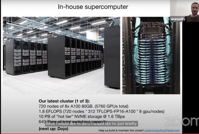 Tesla şirkəti dünyanın 5-ci ən güclü superkompüterini yaradıb