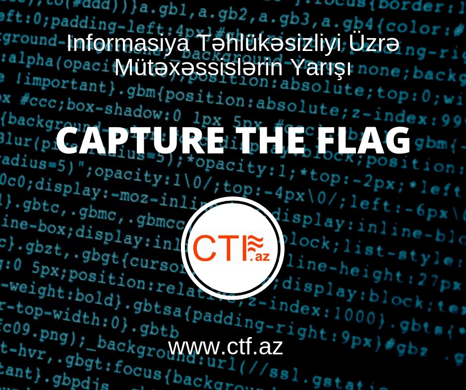CTF Azerbaijan, Smart IT, Capture The Flag