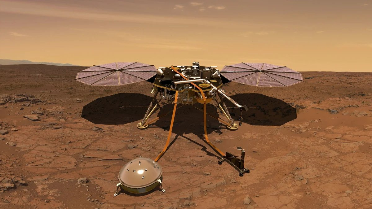 nasa, nasa insight, nasa insight mission, nasa insight mars, mars panet, mars planeti