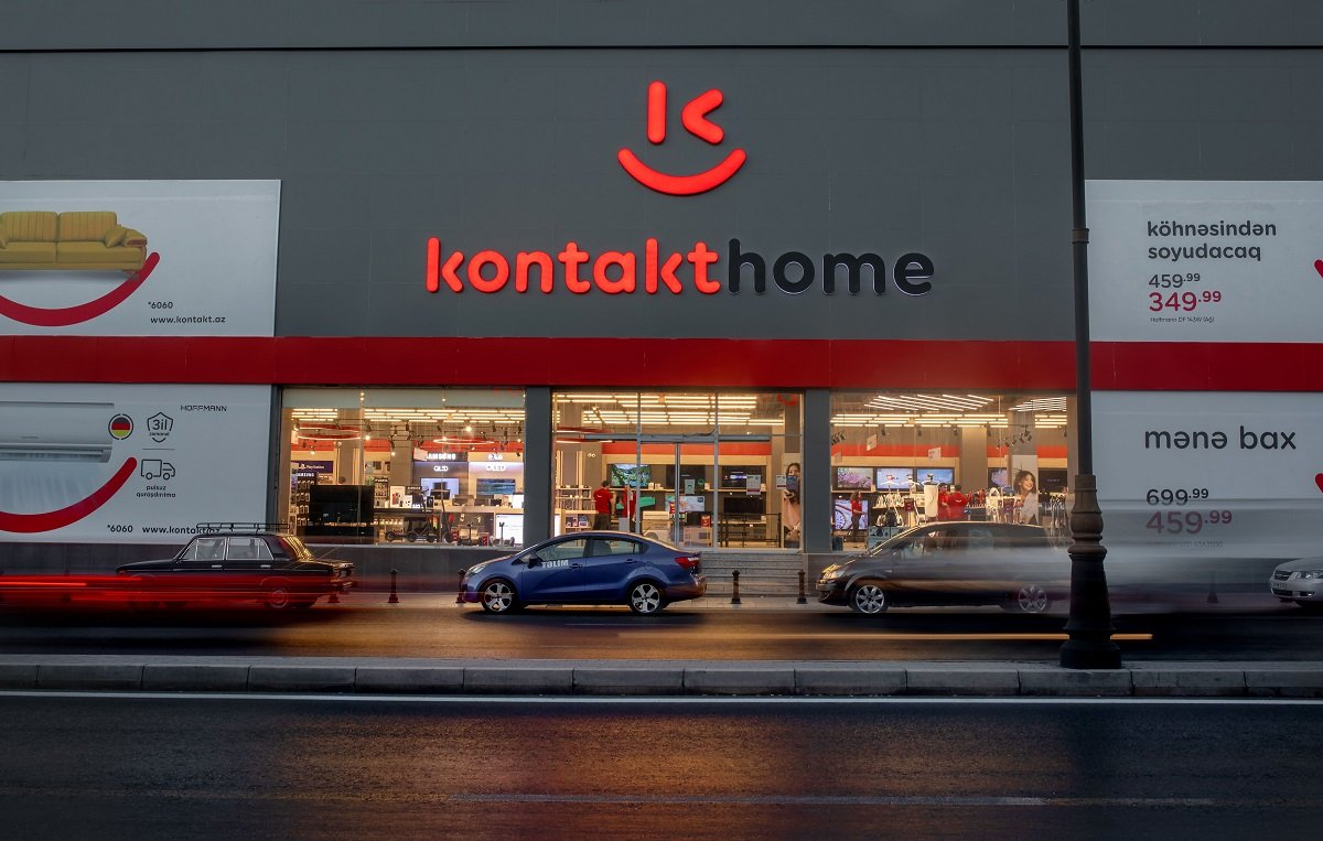 Kontakt Home Xalqlar və Bakıxanov mağazalarını tam yeni formatda təqdim etdi
