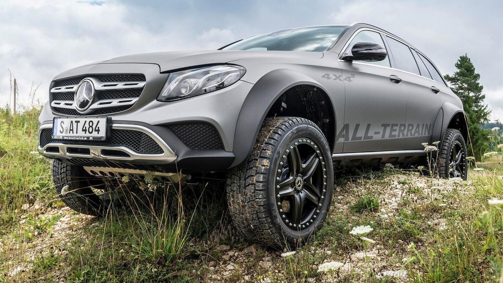 Mercedes-dən off-road E-Class!