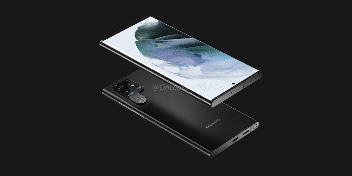 Məşhur insayder Galaxy Note dizaynına sahib Galaxy S22 Ultra-nın ilk render fotolarını təqdim edib
