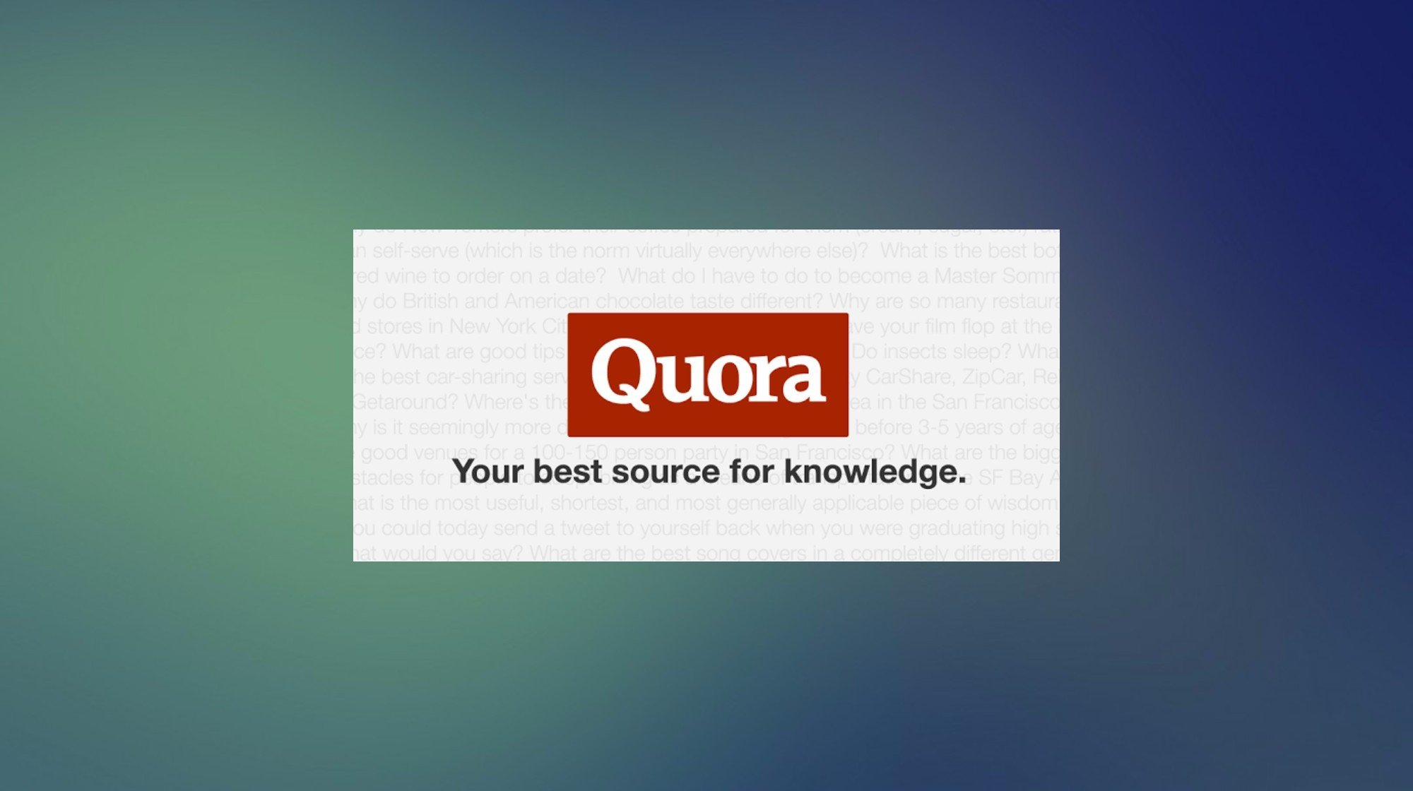 quora, quora hack, quora questions, quora reputation