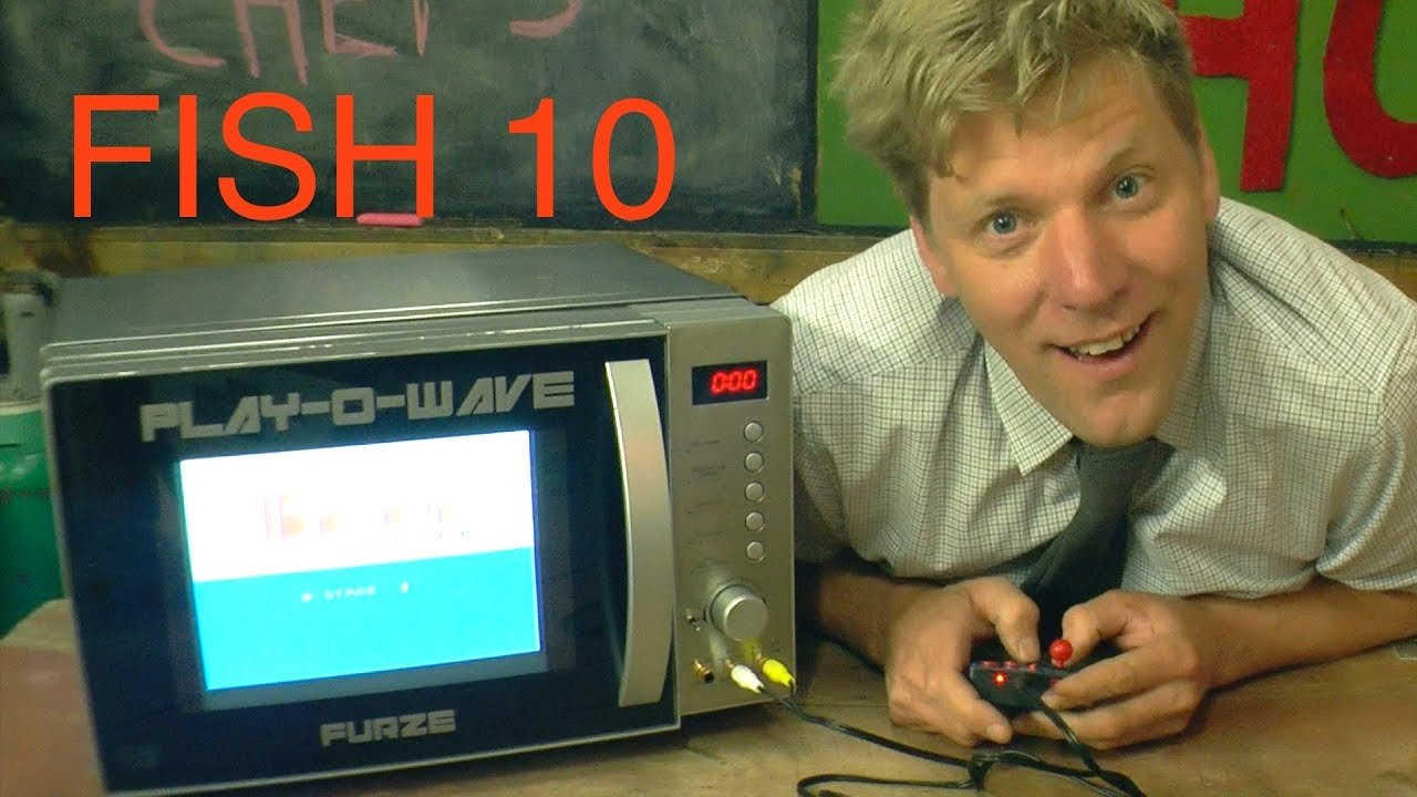 Mikrodalğalı sobanı oyun konsoluna çevirdi (VİDEO)