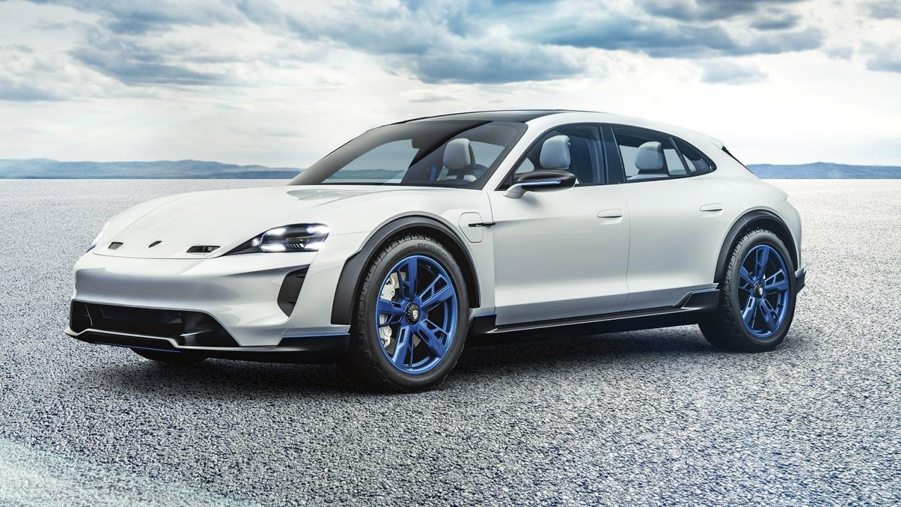 Porsche E Cross Turismo elektromobili təqdim olundu