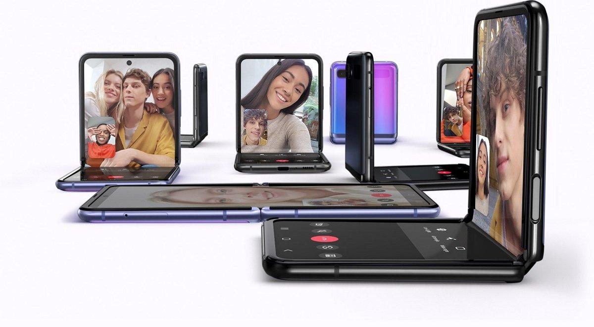 Qatlana bilən Galaxy Z Flip 3 smartfonunun press render fotoları təqdim olunub
