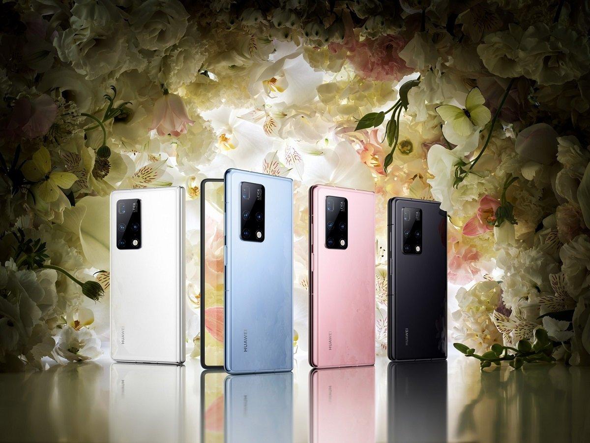 Qatlana bilən Huawei Mate X2-nin ana platası iPhone 12 Pro Max-dan daha bahadır