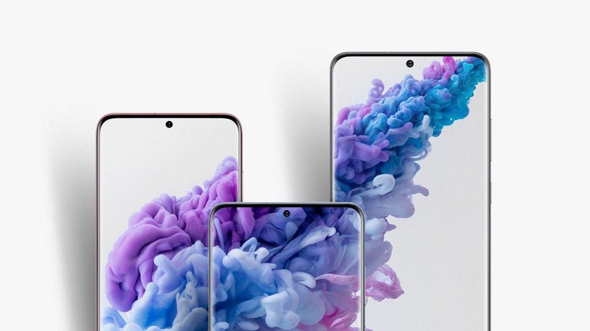 Samsung Galaxy S21-də ekranın alt hissəsinə yerləşdirilmiş ön kameradan istifadə oluna bilər