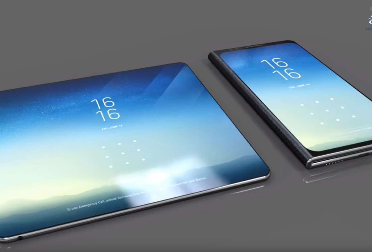samsung, samsung foldable tablet, foldable tablet, samsung foldable display