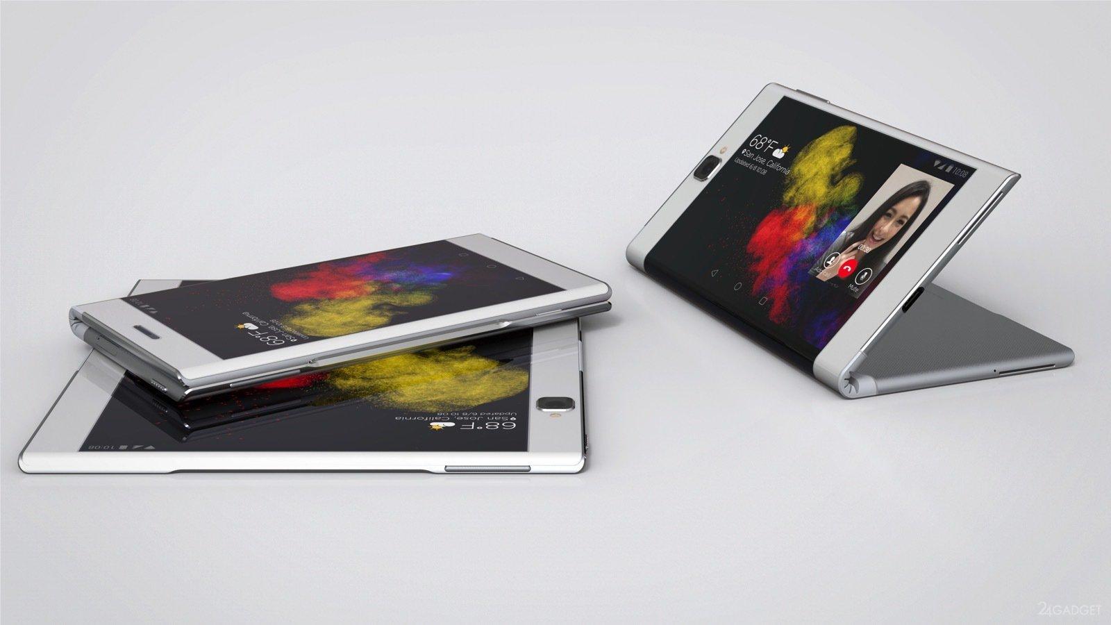 'Samsung' şirkəti gamerlər üçün əyilə bilən iki ekranlı smartfonun patentini alıb