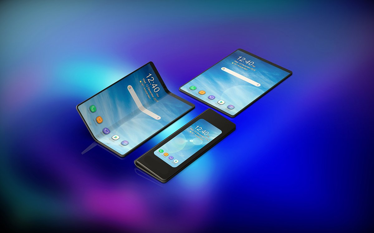 samsung, samsung foldable phone, samsung foldable smartphone, samsung foldable phone infinity flex display, galaxy f, foldable phone