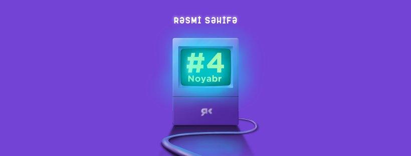 #4noyabr rəsmi səhifəsi 'hack' edildi! (AÇIQLAMA)