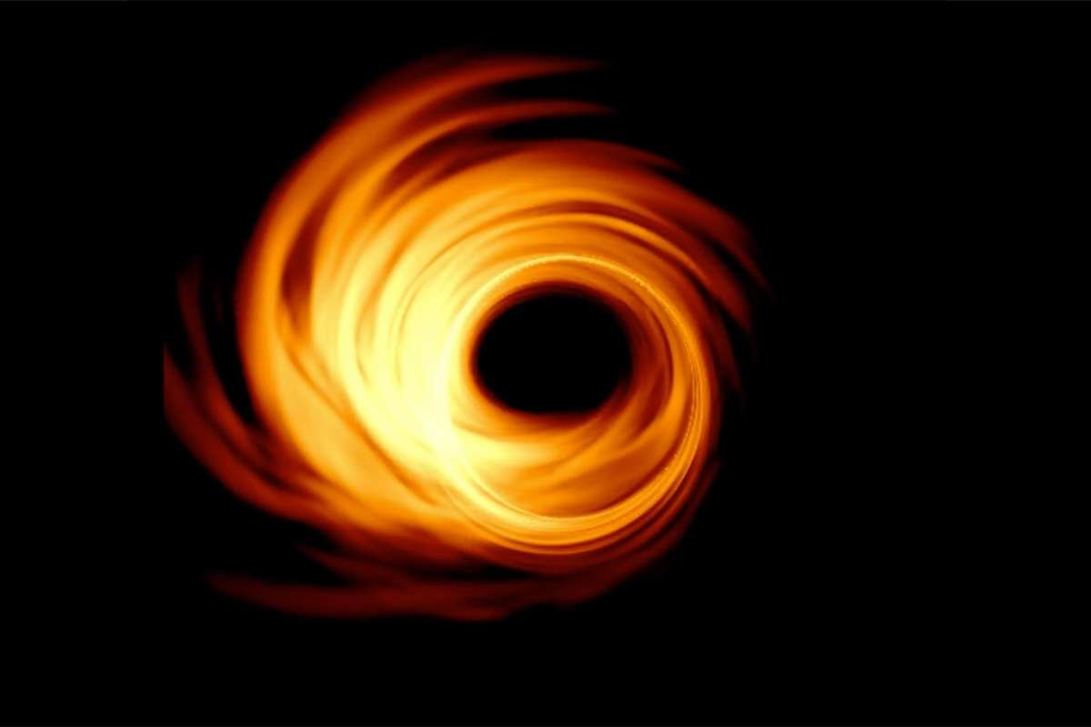 black hole, qara delik, black holefirst photo, black hole photo, qara delik nedir