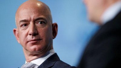 amazon, amazon jeff bezos, jeff bezos, bezos earth fund