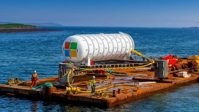 microsoft, microsoft 2020, microsoft underwater data center cooling, microsoft underwater data center, microsoft underwater server, microsoft underwater data center scotland