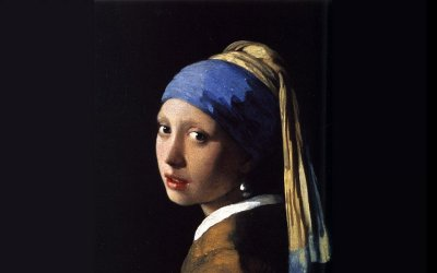 girl with a pearl earring, girl with a pearl earring painting