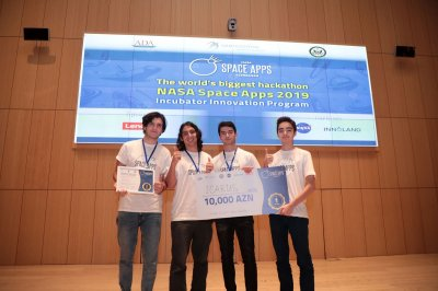 nasa, nasa space apps azerbaijan, nasa space apps azerbaijan hackaton, azerkosmos