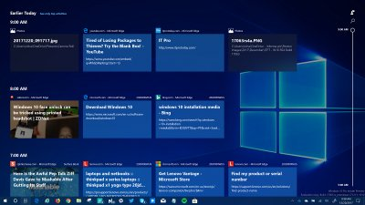 microsoft, microsoft windows, windows 10, windows 10 timeline