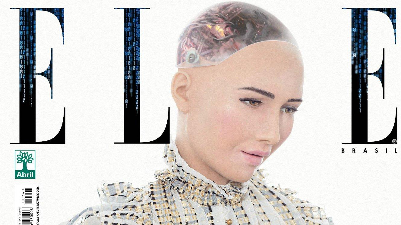 Vətəndaşlıq almış və dünyanı məhv etməyə söz vermiş robot Sophia Elon Musk-a söz atdı