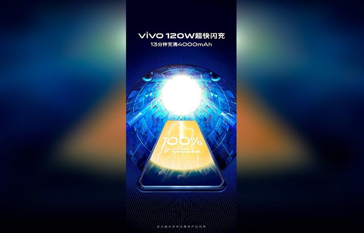 Vivo şirkəti FlashCharge adlı 120 vatt gücündə sürətli şarj texnologiyasını təqdim edib