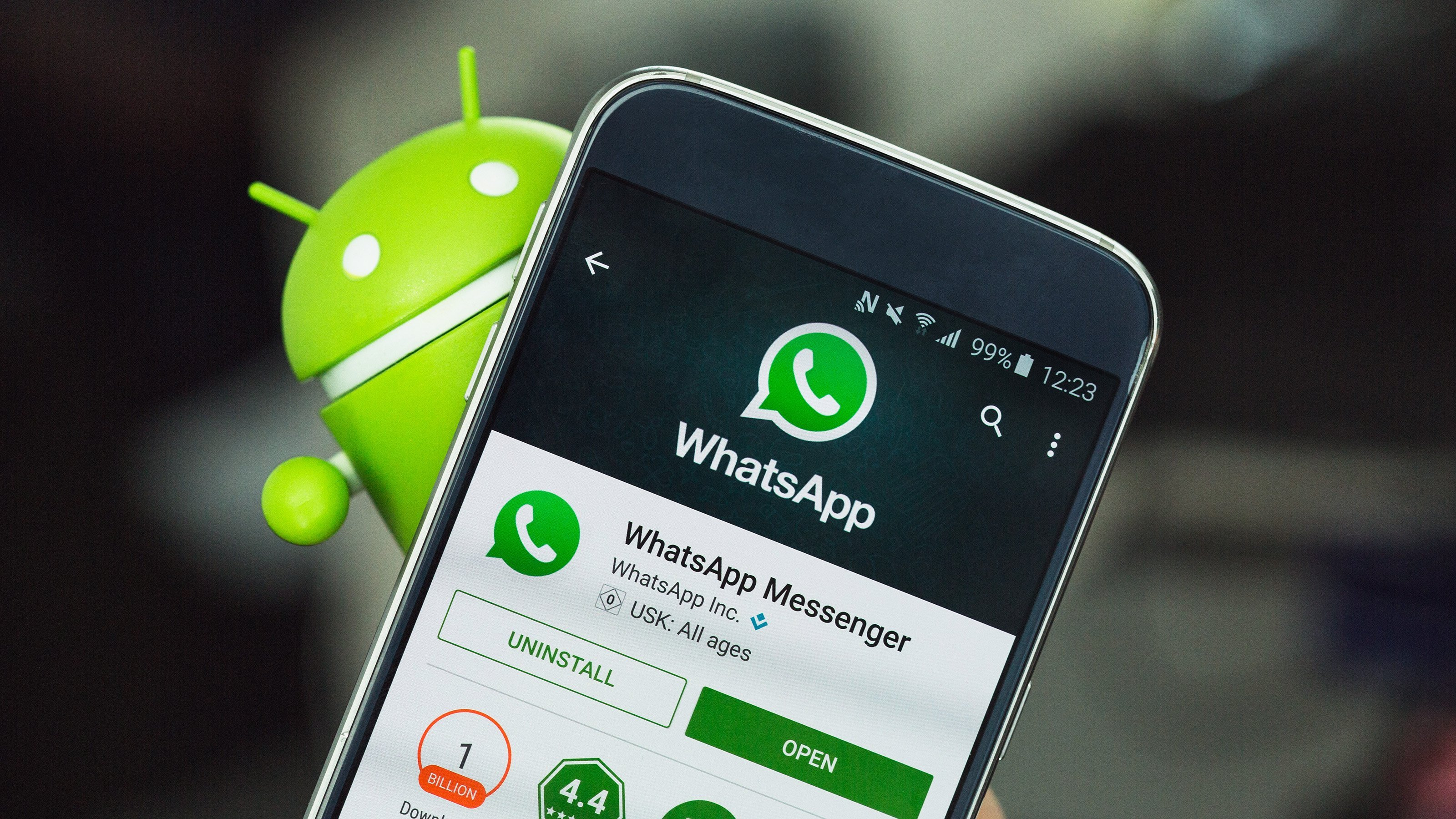 whatsapp, whatsapp for android, whatsapp for ios, whatsapp touch id, whatsapp face id