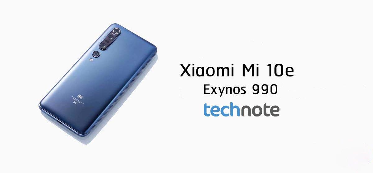 Xiaomi Mi 10E, Geekbench testində ortaya çıxdı: Exynos 990 çipseti istifadə edəcək